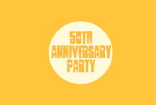 free printable golden 50th anniversary invitation