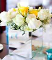 50th Anniversary Flower Centerpieces