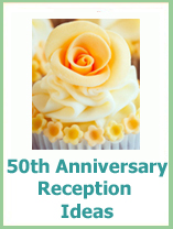 50th wedding anniversary reception