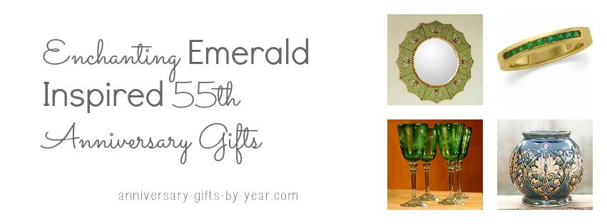 Emerald Wedding Anniversary Gifts: 55th Wedding Anniversary Gift Ideas For Your Parents