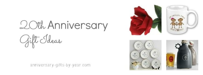 Traditional 20th Wedding Anniversary Gift: Best 20th Anniversary Gift Ideas