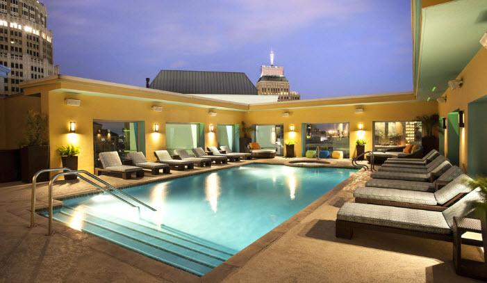 Hotel Contessa rooftop Spa