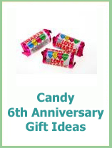 traditional 6th wedding anniversary gift ideas