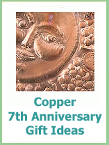 copper anniversary gifts