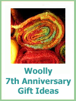7th wedding anniversary gifts traditional in wool
