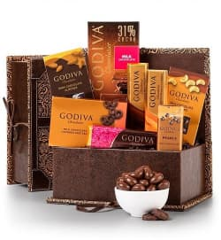 Chocolate Anniversary gift basket