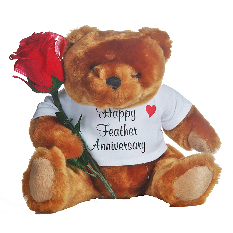 18th anniversary rose
