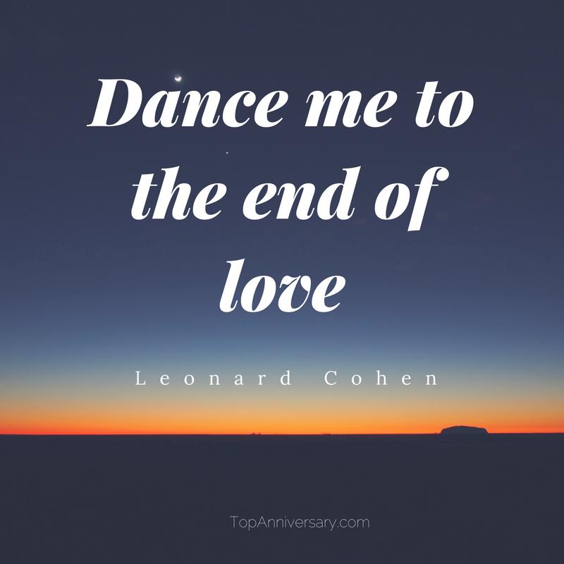leonard cohen love quote