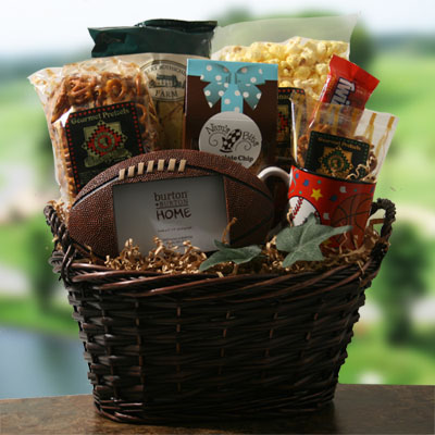 sports lovers gift baskets