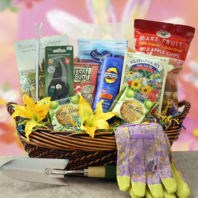 Silver Anniversary Gift Basket