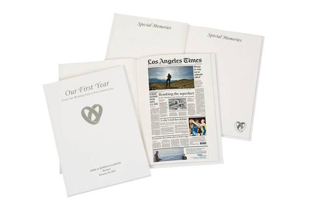 newspaper anniversary book