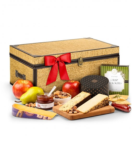 Cheese Anniversary gift basket