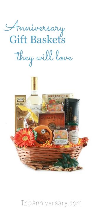 anniversary gift basket