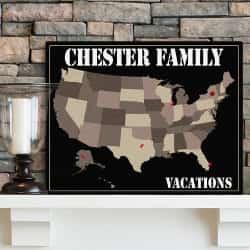 family travel map