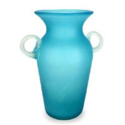 aquamarine vase
