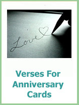 wedding anniversary verses