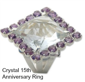 crystal ring