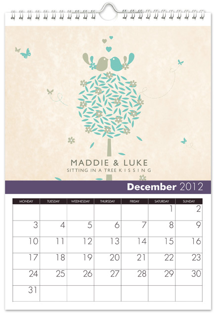 personalized December Anniversary gift ideas