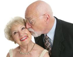 diamond anniversary couple