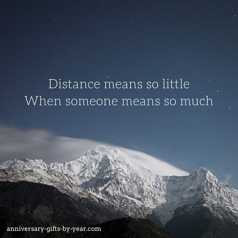 love quote for long distance relationship