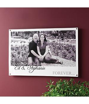 1st wedding anniversary canvas