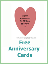 free anniversary cards