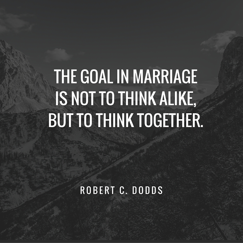goal in marriage quote