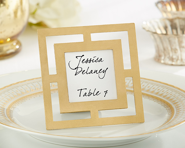 gold frame favor