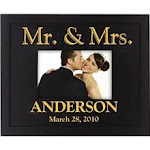14th anniversary personalized frame