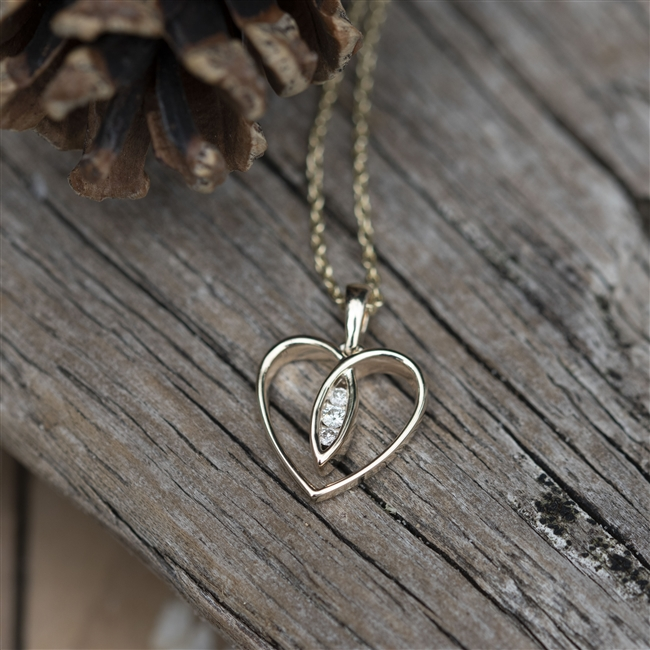 Anniversary Diamond Necklace