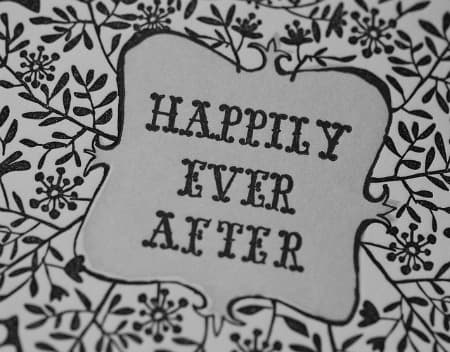 25th wedding anniversary invitation - Happily Ever After