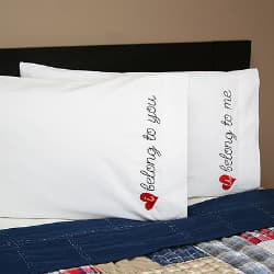 2nd anniversary pillowcase