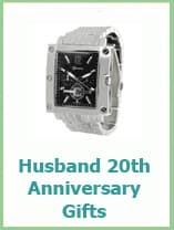 20th anniversary gifts for husband