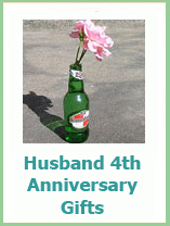 4th anniversary gifts for husband