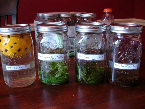 homemade infusions