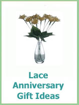 lace anniversary gifts