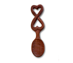 wooden love spoon