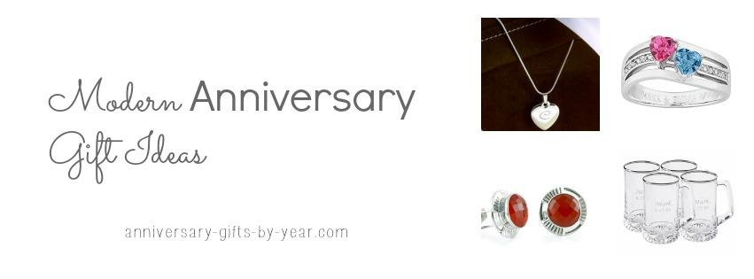 Modern Wedding Anniversary Gift Ideas 16th 17th 18th 19th