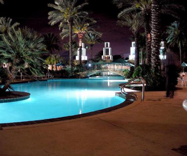 moody gardens hotel pool, texas
