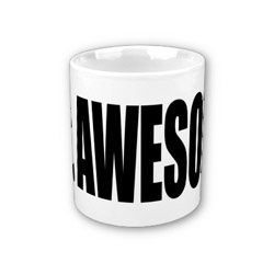 2nd anniversary mr awesome mug