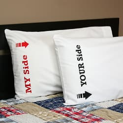 my side your side pillowcases