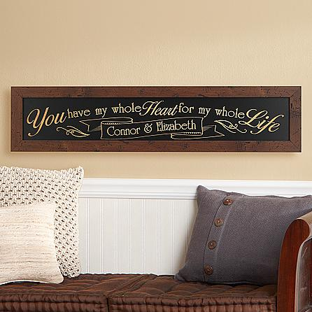 Traditional 5th anniversary gift ideas you can make yourself personalized wooden sign solutioingenieria Images