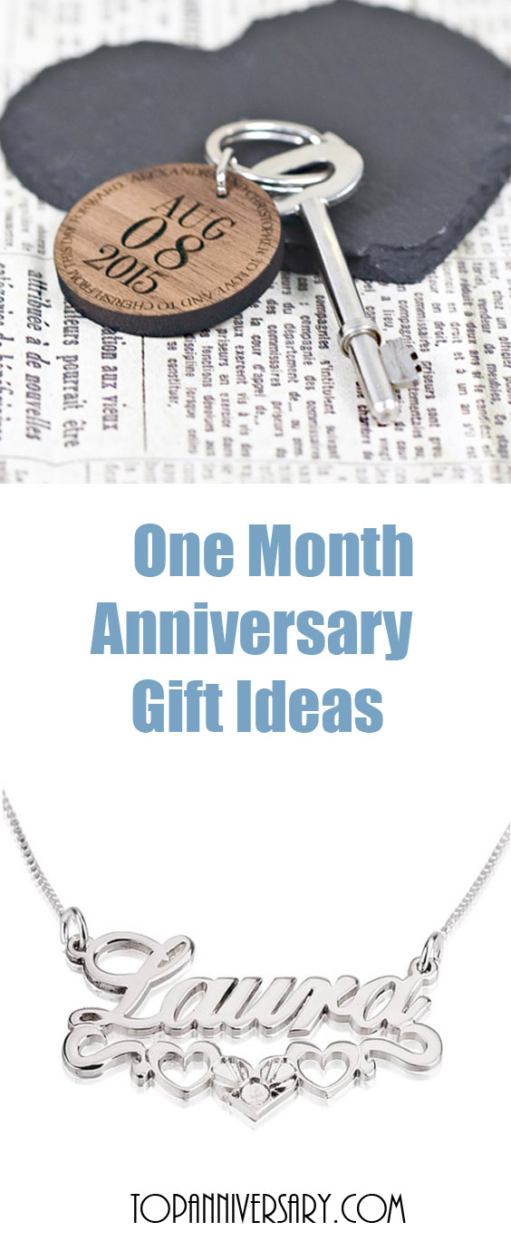 one month anniversary gift ideas