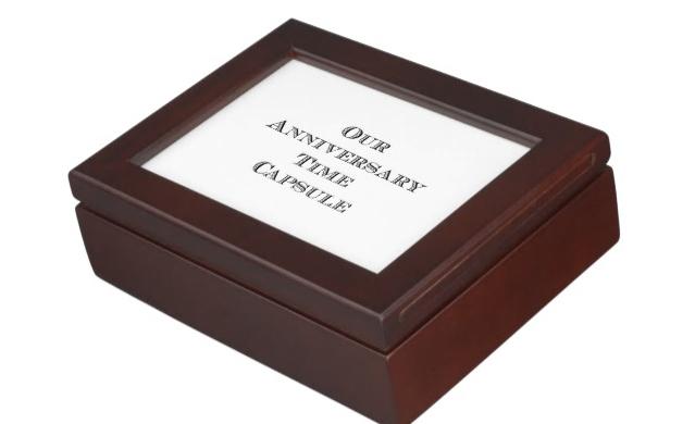anniversary time capsule