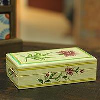 paper mache anniversary box