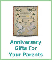 anniversary gifts for your parents