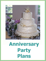 plan a wedding anniversary