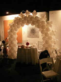 pearl balloon decorations