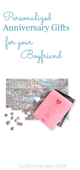 personalized anniversary gifts for boyfriend