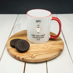 personalized coffee mug for husband